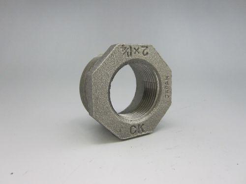 【送料無料】CK金属 黒継手 ブッシング 150A×80A(6B×3B)(品番:黒 BU 150×80)