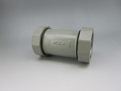 【送料無料】CK金属 コート 3管種兼用メカ CKMAジョイント CKMA-Hiロック(ロック付) 枝部ねじ付チー 65A×50A(2 1/2B×2B)(品番:コート HI-MA RT 65×50)