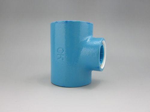 CK金属 プレシールコア継手 異径チーズ 80A×15A(3B×1/2B)(品番:プレシールコア RT 80×15)