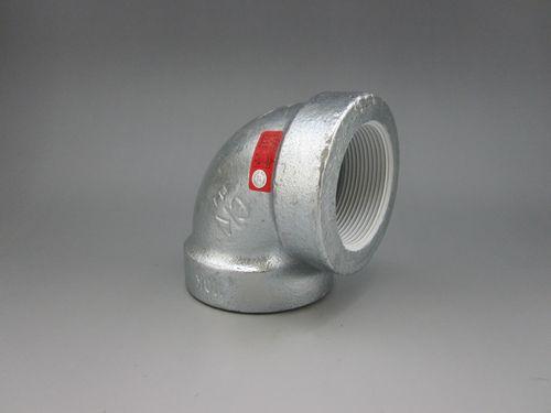 【送料無料】CK金属 プレシール消化配管用20K継手 エルボ 125A(5B)(品番:プレシールe白20K HBL 125)