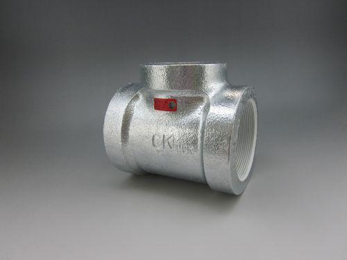 【送料無料】CK金属 プレシール消化配管用20K継手 異径チーズ 80A×65A(3B×2 1/2B)(品番:プレシールe白20K HBRT 80×65)
