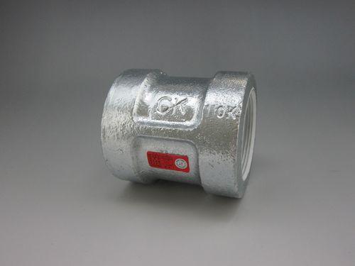 【送料無料】CK金属 プレシール消化配管用20K継手 ソケット 100A(4B)(品番:プレシールe白20K HBS 100)