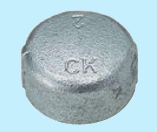 【送料無料】CK金属 e白継手 キャップ 150A(6B)(品番:白 Ca 150)