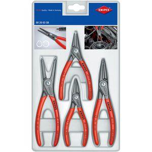 【送料無料】KNIPEX 精密スナップリングプライヤーセット(4本組)(品番:002003SB)『4467060』