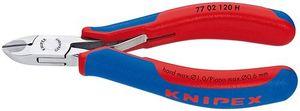 KNIPEX 超硬刃エレクトロニクスニッパー 7702120H JAN:4003773075783 ニッパ(電気・電子用) クニペックス 【送料無料】KNIPEX 超硬刃エレクトロニクスニッパー(品番:7702-120H)