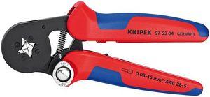【送料無料】KNIPEX (SB)(品番:9753-04) ワイヤーエンドスリーブ圧着ペンチ (SB)(品番:9753-04), オレンジインテリア:4f521a59 --- loveszsator.hu