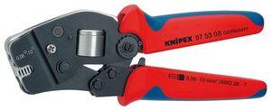【送料無料】KNIPEX ワイヤーエンドスリーブ圧着ペンチ (SB)(品番:9753-08)