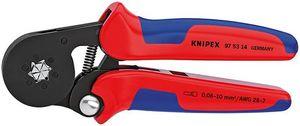 【送料無料】KNIPEX ワイヤーエンドスリーブ圧着ペンチ (SB)(品番:9753-14)