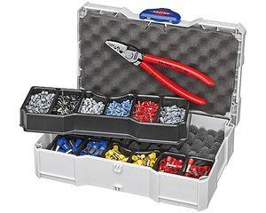 激安先着 【送料無料】KNIPEX 圧着ペンチセット(品番:9790-06):セルフメイド-DIY・工具