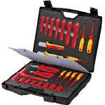 【送料無料】KNIPEX 絶縁工具セット(品番:989912)『4470141』