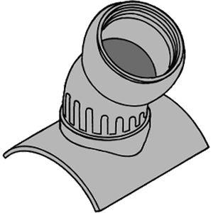 【納期:都度問合せ】前澤化成工業 塩ビ管用自在支管60SVRF 250-200 200A(8B)(品番:60SVRF250-200)『75679』