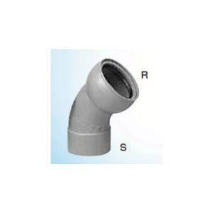 【送料無料】【納期:5営業日以内発送】前澤化成工業 ゴム輪受口自在曲管S型 45SRFS150 150A(6B)(発注数:6)(品番:45SRFS150)『76415』