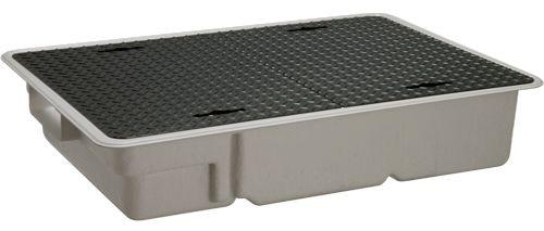 【送料無料】【納期:5営業日以内発送】前澤化成工業 FRP製グリーストラップ 側溝流入超浅型 GT-XL-S(品番:GT-XL40S 鉄蓋付)『81752』