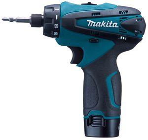 【送料無料】マキタ 10.8V 充電式ドライバドリル(バッテリー、充電器、ケース付)(品番:DF030DWX)