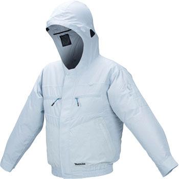 【即納】【送料無料】マキタ 充電式ファンジャケット ポリエステル フード付モデル Lサイズ(品番:FJ205DZL)
