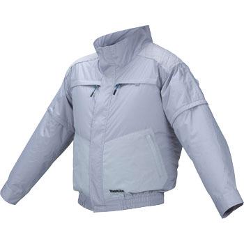 【即納】【送料無料】マキタ 充電式ファンジャケット チタン加工+ポリエステル 立ち襟モデル Lサイズ(品番:FJ402DZL)