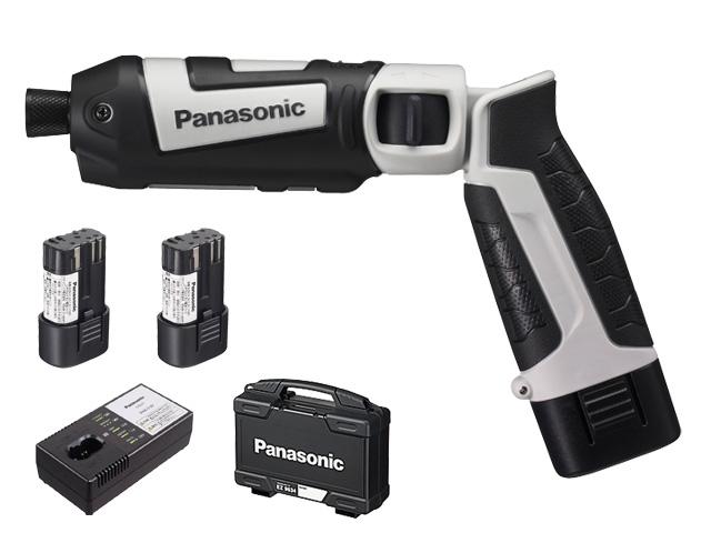【即納】【送料無料】パナソニック スティックインパクトドライバー 7.2V 電池セット グレー(品番:EZ7521LA2S-H)