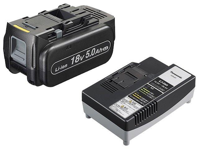 【即納】【送料無料】パナソニック 18V電池パック・充電器セット品(品番:EZ9L54ST)