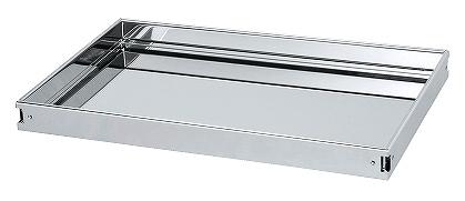 【送料無料】【メーカー取寄品(代引き決済時、要問合せ)】サカエ ステンレスCSスーパーワゴン用棚板(品番:CSSA-64TSU)『585130』ステンレス製品