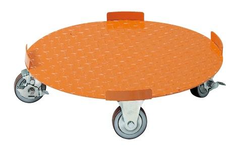 【送料無料】【メーカー取寄品(代引き決済時、要問合せ)】サカエ 円形ドラム台車(品番:DR-5)『211683』荷役・運搬機器