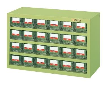 【送料無料】【メーカー取寄品(代引き決済時、要問合せ)】サカエ ハニーケース・樹脂ボックス(品番:HFS-24TL)『143013』工具保管
