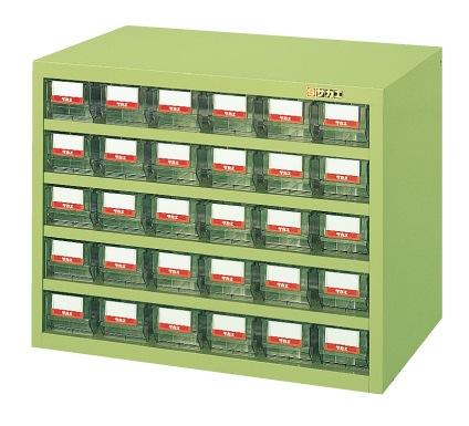 【送料無料】【メーカー取寄品(代引き決済時、要問合せ)】サカエ ハニーケース・樹脂ボックス(品番:HFS-30TL)『143016』工具保管