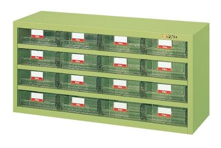 【送料無料】【メーカー取寄品(代引き決済時、要問合せ)】サカエ ハニーケース・樹脂ボックス(品番:HFW-16TL)『143021』工具保管