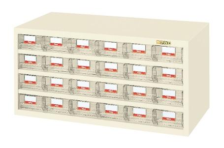 【送料無料】【メーカー取寄品(代引き決済時、要問合せ)】サカエ ハニーケース・樹脂ボックス(品番:HFW-24TLI)『143381』工具保管