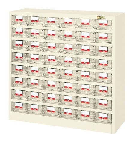 【送料無料】【メーカー取寄品(代引き決済時、要問合せ)】サカエ ハニーケース・樹脂ボックス(品番:HFW-48TI)『143372』工具保管