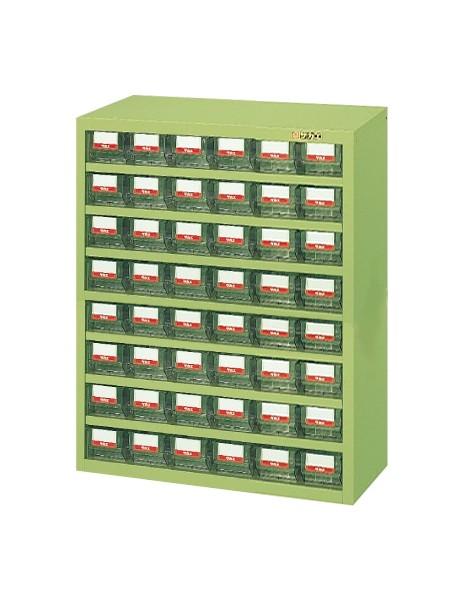 【送料無料】【メーカー取寄品(代引き決済時、要問合せ)】サカエ ハニーケース樹脂ボックス(品番:HFW-48TL)『143023』工具保管
