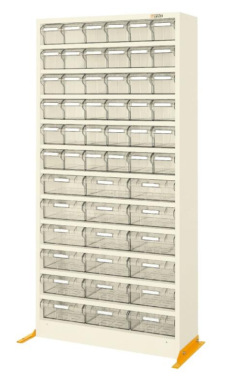 【送料無料】【メーカー取寄品(代引き決済時、要問合せ)】サカエ ハニーケース2・樹脂ボックス(品番:HK-54I)『143269』工具保管
