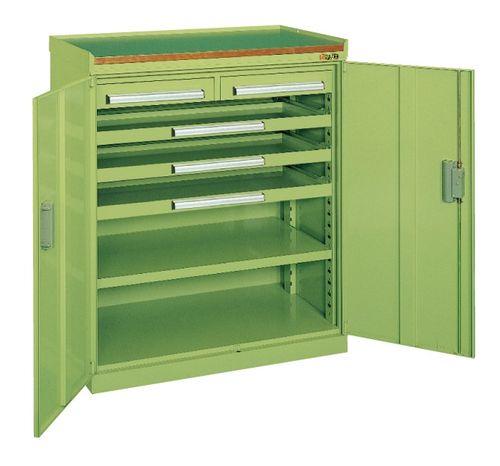 【送料無料】【メーカー取寄品(代引き決済時、要問合せ)】サカエ ミニ工具室(品番:K-101N)『142170』工具保管