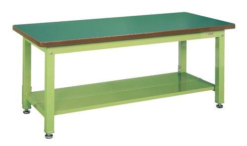 【送料無料】【メーカー取寄品(代引き決済時、要問合せ)】サカエ 重量作業台KWタイプ中板2枚付(品番:KWF-189T1)『033601』作業台