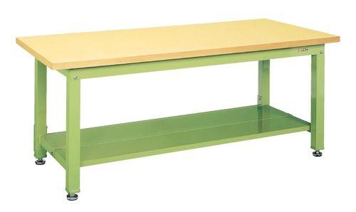 【送料無料】【メーカー取寄品(代引き決済時、要問合せ)】サカエ 重量作業台KWタイプ中板2枚付(品番:KWG-158T1)『033404』作業台