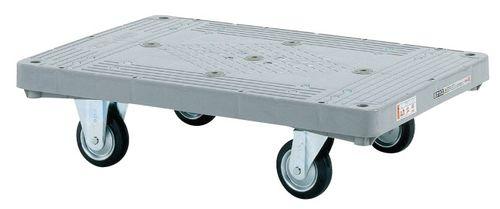 【送料無料】【メーカー取寄品(代引き決済時、要問合せ)】サカエ 樹脂平台車(品番:LHT-20)『219960』荷役・運搬機器