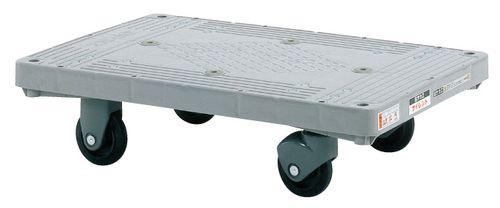 【送料無料】【メーカー取寄品(代引き決済時、要問合せ)】サカエ 樹脂平台車 サイレントキャスター(品番:LHT-20S)『219946』荷役・運搬機器