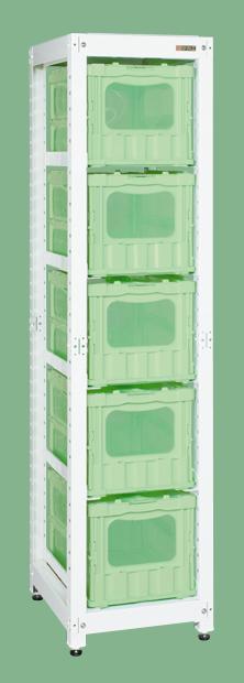 【送料無料】【メーカー取寄品(代引き決済時、要問合せ)】サカエ マルチプルラック(品番:MR-50BLMRGR)『171212』パールホワイト・色管理