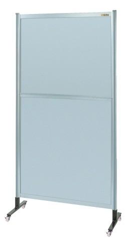 【送料無料】【メーカー取寄品(代引き決済時、要問合せ)】サカエ パーティション オールアルミタイプ(移動式)(品番:NAA-46NC)『060331』パネルハンガー・パーティション