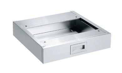【送料無料】【メーカー取寄品(代引き決済時、要問合せ)】サカエ ステンレス作業台 オプションキャビネット(品番:NKL-10SUA)『081104』ステンレス製品
