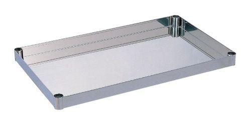 【送料無料】【メーカー取寄品(代引き決済時、要問合せ)】サカエ ステンレスニューパールワゴン オプション 棚板(品番:PB-1SU)『582061』ステンレス製品