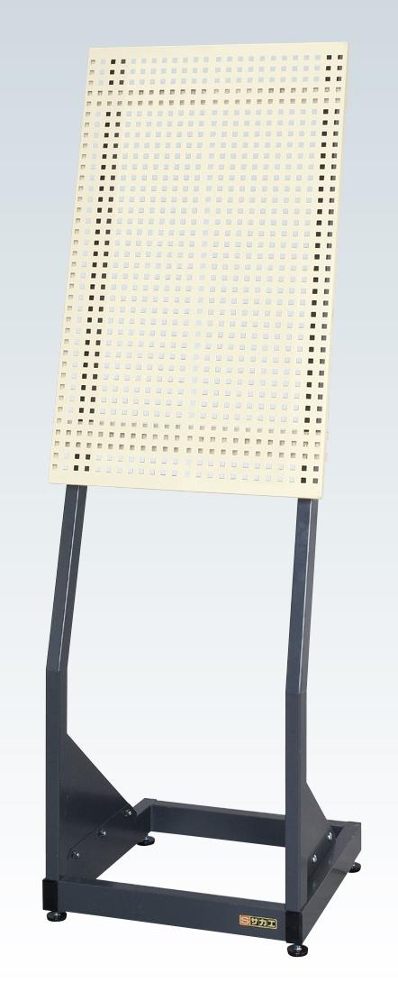 【送料無料】【メーカー取寄品(代引き決済時、要問合せ)】サカエ パンチング傾斜スタンド(品番:PKS-585PI)『123111』パネルハンガー・パーティション