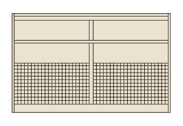 【送料無料】【メーカー取寄品(代引き決済時、要問合せ)】サカエ ピットイン上部架台(品番:PN-2HMPK)『254911』工具保管