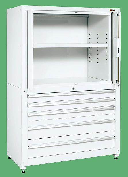 【送料無料】【メーカー取寄品(代引き決済時、要問合せ)】サカエ 保管システム(品番:PNH-MC12W)『250596』工具保管