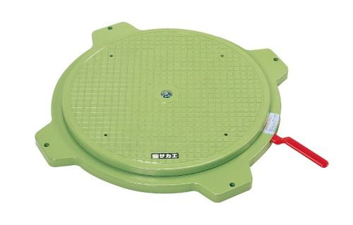 【送料無料】【メーカー取寄品(代引き決済時、要問合せ)】サカエ クルクル回転盤・樹脂製(品番:PS-36)『036054』作業台