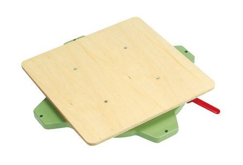 【送料無料】【メーカー取寄品(代引き決済時、要問合せ)】サカエ クルクル回転盤・樹脂製(品番:PS-40T)『036065』作業台