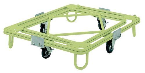 【送料無料】【メーカー取寄品(代引き決済時、要問合せ)】サカエ 自在移動回転台車 中重量型 標準タイプ(品番:RC-1G)『211938』荷役・運搬機器