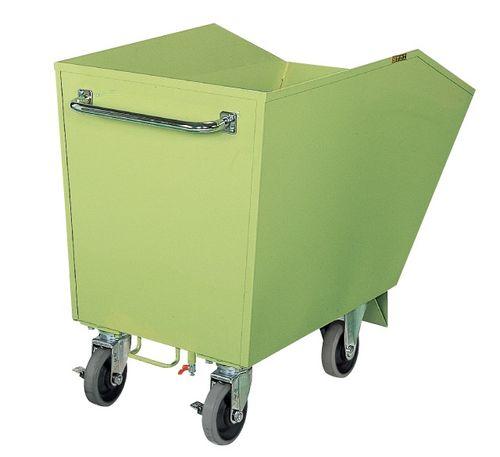 【送料無料】【メーカー取寄品(代引き決済時、要問合せ)】サカエ スクラップ台車(品番:S-2M)『211699』荷役・運搬機器