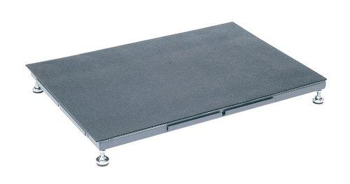 【送料無料】【メーカー取寄品(代引き決済時、要問合せ)】サカエ 足踏台(すべり止めマット付)連結タイプ低床用(品番:SA-0960N)『034752』作業台
