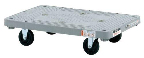【送料無料】【メーカー取寄品(代引き決済時、要問合せ)】サカエ 樹脂平台車 サイレントキャスター(品番:MHT-20S)『211450』荷役・運搬機器