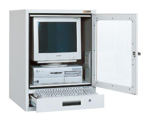 【送料無料】【メーカー取寄品(代引き決済時、要問合せ)】サカエ パソコンキャビネット(品番:SPC-1TGY2)『241719』工具保管